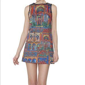 Alice and Olivia Town Tisha Havana Mini Dress